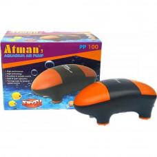 Atman PP-100 Супертихий компрессор для аквариума до 100 литров, 100 л/ч