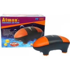 Atman PP-200 Супертихий компрессор для аквариума до 150 литров, 150 л/ч