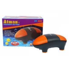 Atman PP-400 Супертихий компрессор для аквариума до 400 литров, 2*180 л/ч