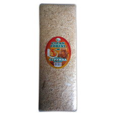 CLEAN FOREST Стружка для грызунов, 20 л (брикет липа и сосна)