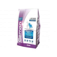 Gemon Dog Medium Корм для взрослых собак средних пород, Тунец с рисом, 3 кг