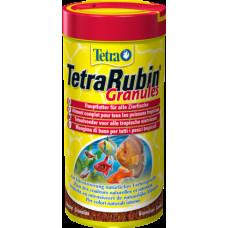 Тетра Корм для рыб Rubin Granules для усиления естественной окраски 250 мл
