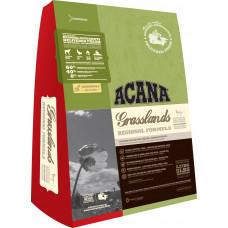 Акана Грасслэндс Кэт беззерновой корм для кошек всех пород и возрастов с  ягненком 340 г