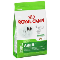Роял Канин Корм X- Смол Эдалт для взрослых собак мелких пород весом до 4 кг 0.5 кг