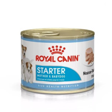Роял Канин Корм Стартер мусс для щенков, беременных и лактирующих собак 195 г