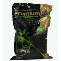 ISTA Субстрат для аквариумных растений и креветок премиум класса (гранулы 1,5-3,5 мм) 3 л
