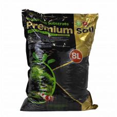 ISTA Субстрат для аквариумных растений и креветок премиум класса (гранулы 1,5-3,5 мм) 8 л