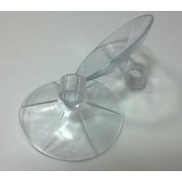 KW Присоска силиконовая для шланга с кольцом d6 А-008