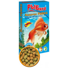 ЗООМИР РЫБята Золотая Рыбка Корм для золотых рыбок, гранулы 25 г