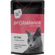 Пробаланс Activ Корм для активных кошек 85 г