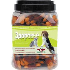 Грин Кьюзин Здоровье Лакомство для собак Галеты с телятиной и уткой, (фасовка) 1 шт