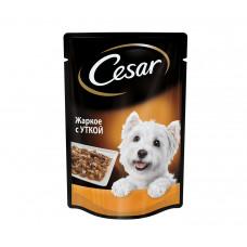 Цезарь Корм для собак консервированный Жаркое с уткой 100 г