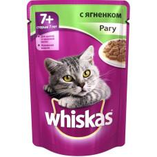 Вискас для кошек старше 7 лет рагу с ягненком 85 г