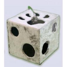 104 ZOOmark Домик Кубик с лапкой + игрушка (мех), 40*40*40 см
