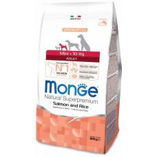 Monge Dog Speciality Mini корм для взрослых собак мелких пород с лососем 800 г
