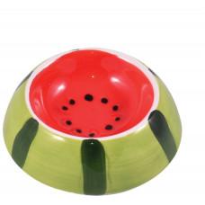 КерамикАрт миска керамическая для грызунов Арбузик 10 мл