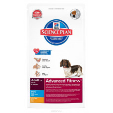 Hills Корм Фитнес для собак мелких пород от 1 года до 6 лет с курицей 800 г