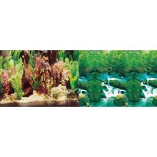 Фон аквариумный высота 30 см, 1 м