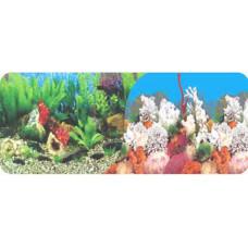 Фон аквариумный высота 40 см, 1 м