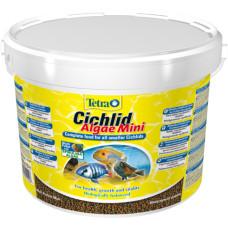 Корм для рыб TetraCichlid Algae Mini растительные мини гранулы 10 л