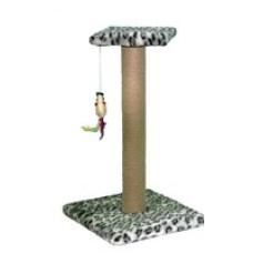 КД-8 PerseiLine Когтеточка Столбик с площадкой, джут, игрушка 52х12 см