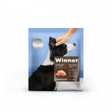 Winner сухой корм для взрослых собак средних пород с курицей, 1 кг