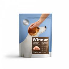 Winner сухой корм для взрослых собак мелких пород с курицей, 0,8 кг