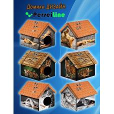 ДМД-1 PerseiLine Дом Дизайн Померанский шпиц для животных, 33*33*40 см