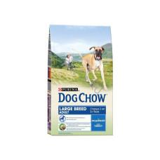 Дог Чау корм сухой для собак крупных пород с индейкой 1 кг