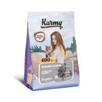 Karmy Корм для взрослых кошек породы Мэйн Кун, 400 г