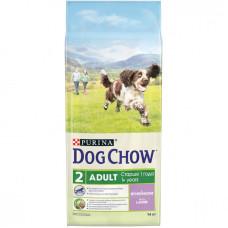 Дог Чау корм сухой для собак с ягненком и рисом 14 кг