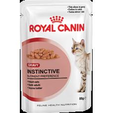 Роял Канин Инстинктив в соусе влажный корм для кошек старше 1 года 85 г