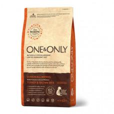ONE&ONLY DOG Turkey &Rice Junior All Breeds Корм сухой для юниоров всех пород, индейка с рисом, 1 кг