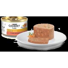 Гурме Голд Террин с уткой, морковью и шпинатом, 85 г