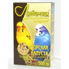 """Любимчик - корм для волнистых попугаев """"Морская капуста"""" 500 г"""