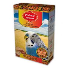 Родные корма Корм для волнистых попугаев с орехами 500 г