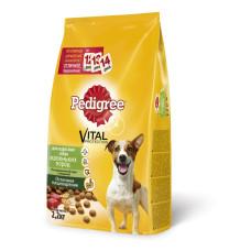 Педигри для взрослых собак мелких пород с говядиной 2,2 кг