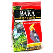 Вака High Quality корм для средних попугаев 500 г