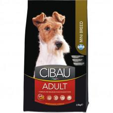 FARMINA Cibau Корм для мелких взрослых собак (Adult Mini), 2,5 кг