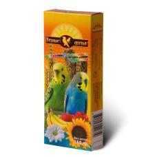 Верные друзья Лакомство для волнистых попугаев с фруктами, 2 зерновые палочки, 150 г