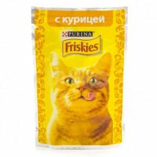 Фрискис Корм для кошек с курицей 85 г