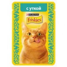Фрискис Корм для кошек с уткой 85 г