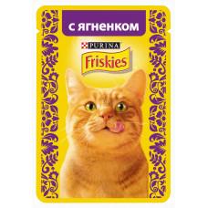 Фрискис Корм для кошек с ягненком 85 г