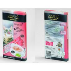 Эдель Кэт Лакомство крем-суп для нормализации пищеварения с лососем,15 г
