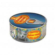 Родные корма Знатные Корм консерв. для кошек Курица 100 г