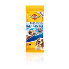 Педигри 180 г Дентастикс - для собак средних пород весом от 10 до 25  кг
