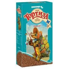 "Зоомир ""Тортила М"" - Корм гранулы для водяных черепах, 90 гр"