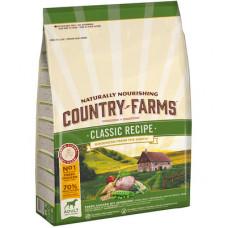 Country Farms Сухой Классический корм для взрослых собак с высоким содержанием Курицы, 2,5 кг