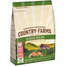 Country Farms Сухой Классический корм для взрослых собак с высоким содержанием Лосося, 2,5 кг