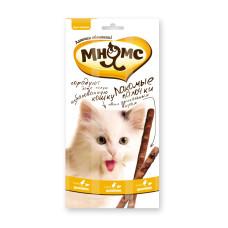 Мнямс Pro Pet лакомые палочки для кошек с цыпленком и печенью 13.5 см